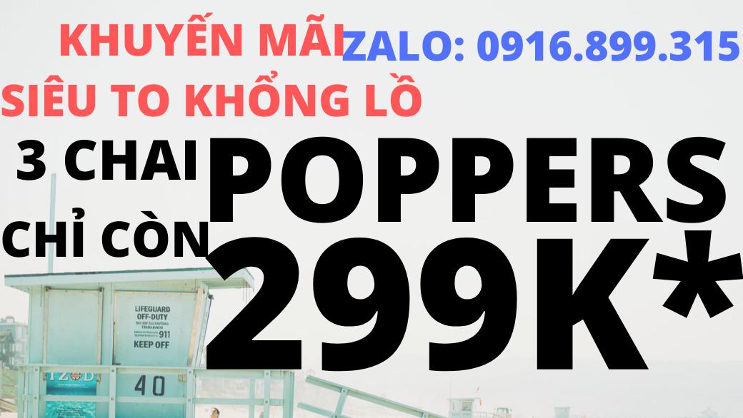 Popper chính hãng, mua popper o dau, huong dan su dung popper, popper loai nao manh, mua poppers o tphcm